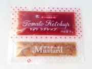 トマトケチャップ&マスタード