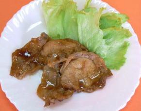 豚肉のピリカラマーマレード焼き