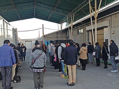 関東支社社員旅行出発式